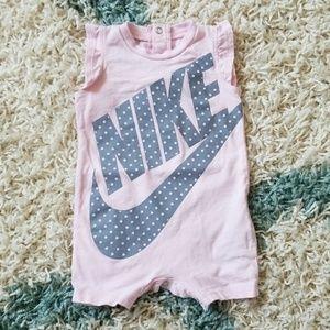EUC Nike Romper Onesie Bodysuit